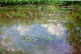 Claude Monet Water Lilies 1903 painting