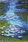 Claude Monet Water Lilies I painting