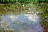 Claude Monet Water Lilies The Clouds painting