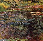 Claude Monet Water-Lilies 21 painting