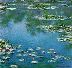 Claude Monet Water-Lilies 22 painting