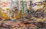 Claude Monet Water-Lilies left painting