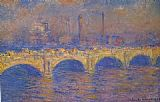 Claude Monet Waterloo Bridge Sunlight Effect 1 painting