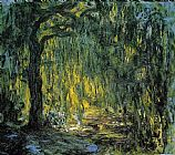 Claude Monet Weeping Willow 5 painting