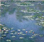 Claude Monet water lily painting