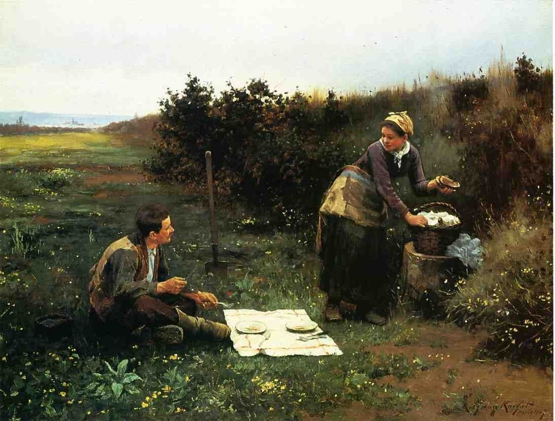 Daniel Ridgway Knight The Honeymoon Breakfast
