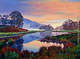 David Lloyd Glover Baroque Dawn painting