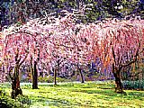 David Lloyd Glover Blossom Fantasy painting