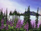 David Lloyd Glover Canadian Sunrise painting