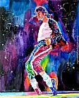 David Lloyd Glover Michael Jackson Dance painting