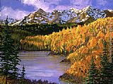 David Lloyd Glover October Colors painting