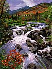 David Lloyd Glover RIver Sounds painting