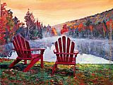 David Lloyd Glover Vermont Romance painting