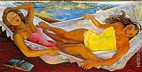 Diego Rivera La Hamaca The Hammock painting