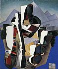 Diego Rivera Zapatista Landscape painting
