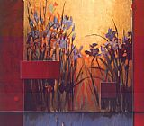 Don Li-Leger Iris Sunrise painting