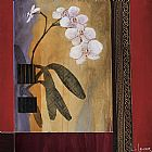 Don Li-Leger Orchid Lines I painting