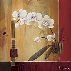Don Li-Leger Orchid Lines II painting