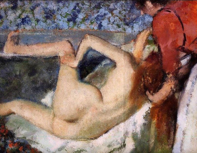 Edgar Degas The Bath II