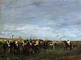 Edgar Degas Before the Race I painting