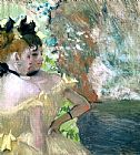 Edgar Degas Dancers in the Wings 2 painting