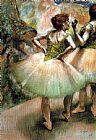 Edgar Degas Dancers, Pink and Green I painting