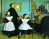 Edgar Degas The Bellelli Family painting
