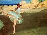 Edgar Degas The Star - Dancer on Pointe painting