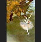 Edgar Degas The Star I painting