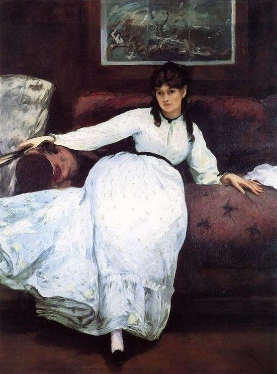 Edouard Manet Repose Portrait of Berthe Morisot