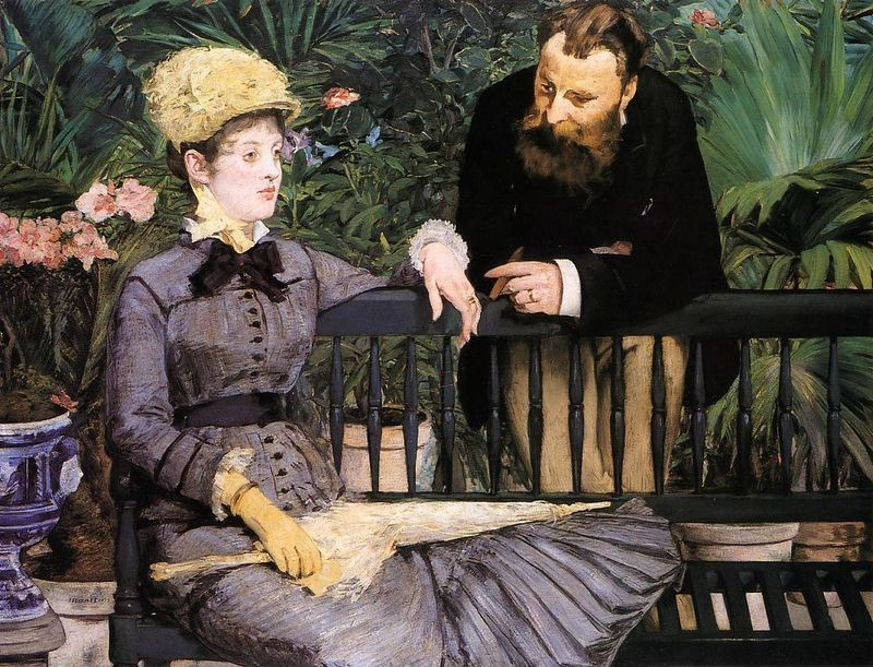 Edouard Manet The Conservatory