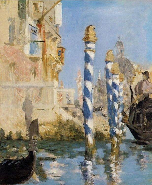Edouard Manet The Grand Canal Venice