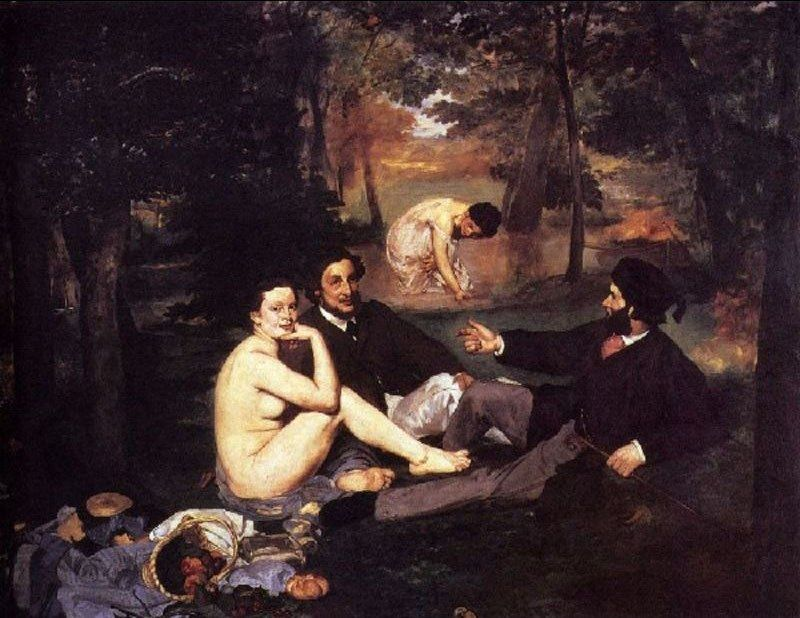 Edouard Manet The Picnic