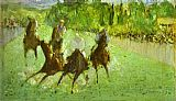 Edouard Manet At The Races painting