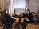 Edouard Manet Interior at Arcachon painting