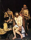 Edouard Manet Jesus Mocked by the Soldiers painting