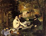 Edouard Manet Luncheon on the Grass painting