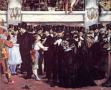 Edouard Manet Masked Ball at the Opera painting