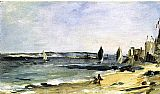 Edouard Manet Seascape at Arcachon painting