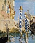 Edouard Manet The Grand Canal Venice painting