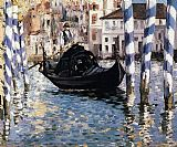 Edouard Manet The Grand Canal, Venice I painting