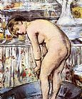Edouard Manet Woman in a Tub painting