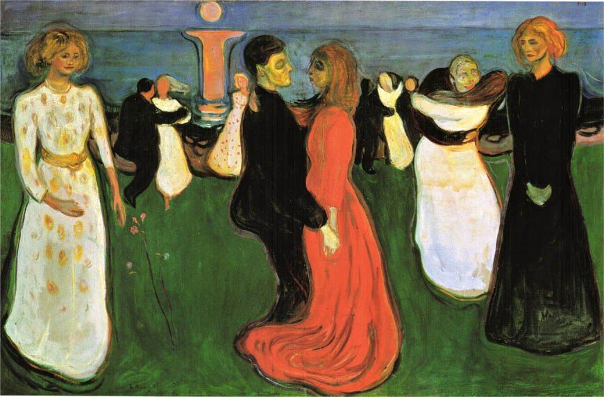 Edvard Munch The Dance Of Life
