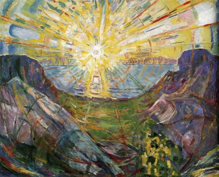 Edvard Munch The Sun 1