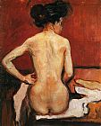 Edvard Munch Nude painting