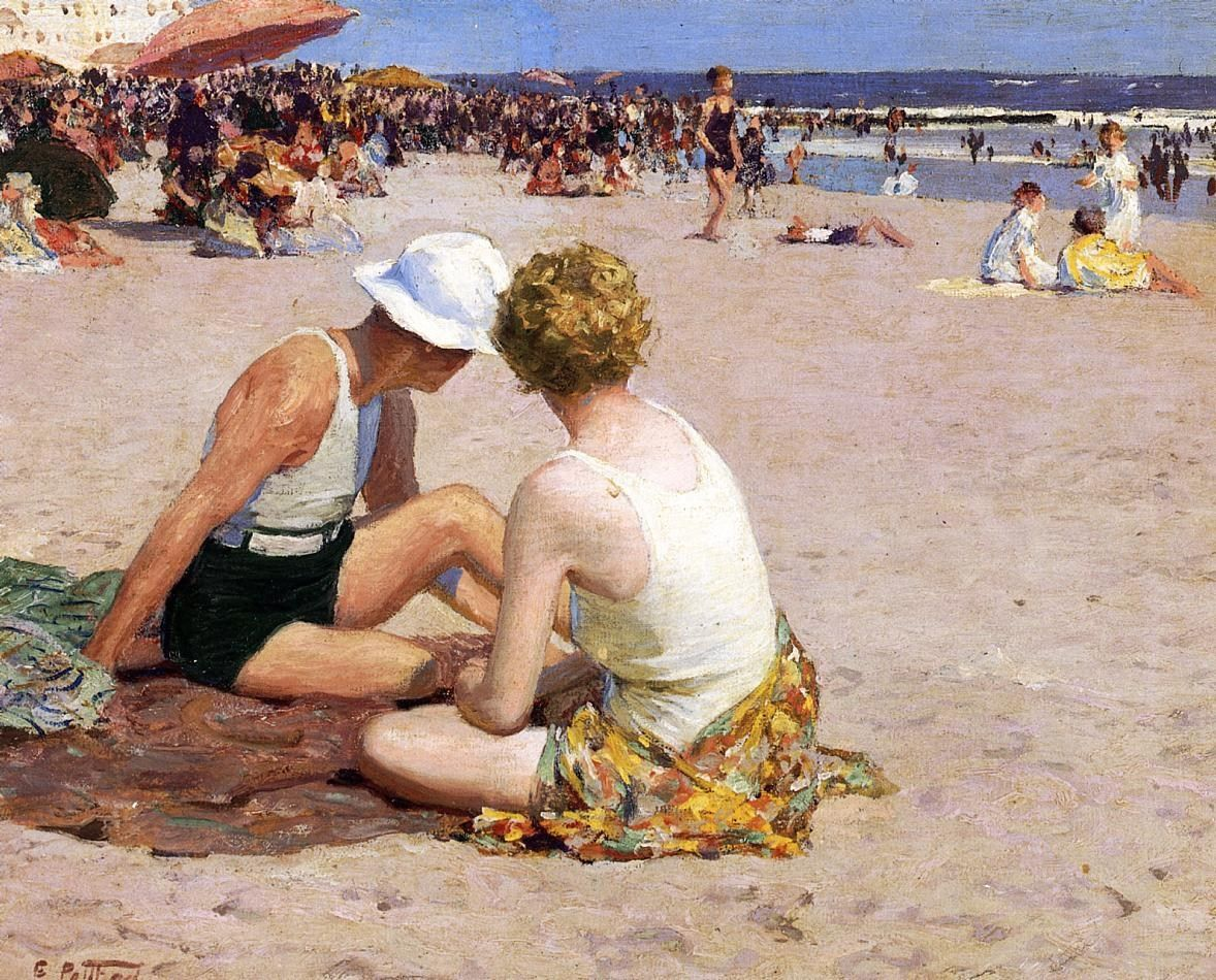Edward Henry Potthast A Summer Vacation