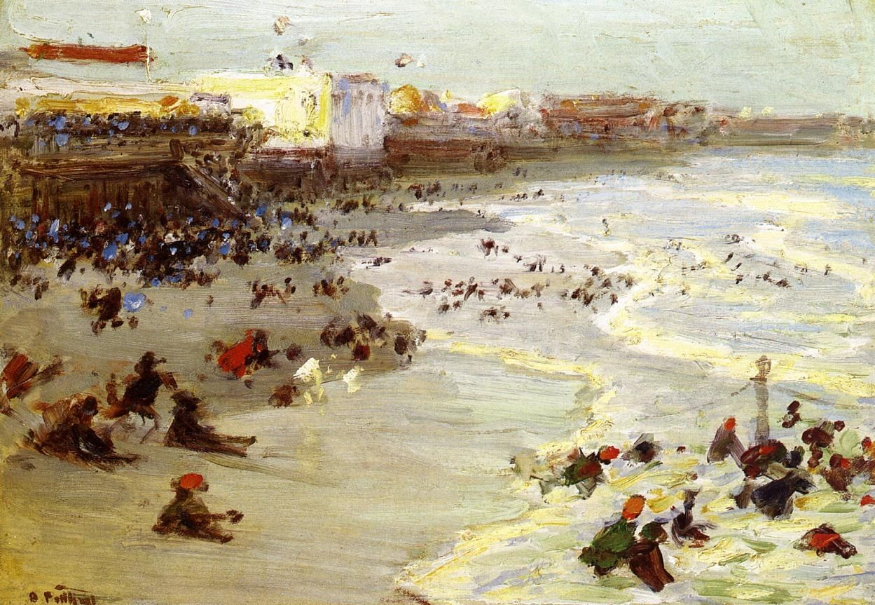 Edward Henry Potthast Coney Island