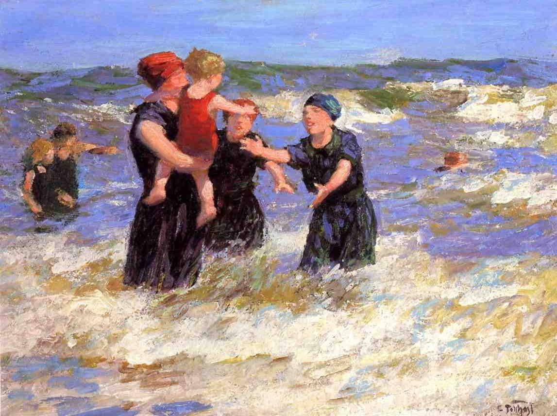 Edward Henry Potthast Making Friends