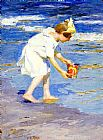 Edward Henry Potthast Brighton Beach painting