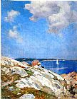 Edward Henry Potthast Cape Ann Coast painting